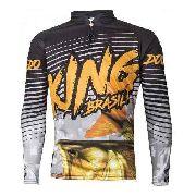 Camiseta Sublimada De Pesca Protecao Solar Viking 1 Tucunaré