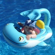 Boia Bote infantil Sunshade Seat Baby Azul