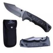 Canivete Tático Forest Guepardo Faca Em Inox + Lanterna T6