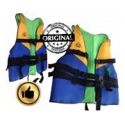 Colete Salva Vidas Agua Canoa Segurança - Anplus 80kg