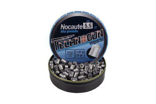 Chumbinho Nocaute Technogun 5.5mm 250un