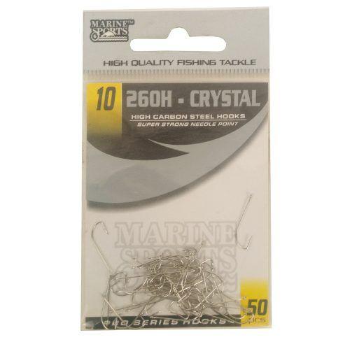 Anzol 260h Cristal Nº 10 Cartela C/50