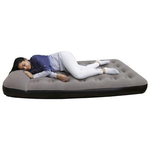 Colchao Star Casal Com Travesseiro Embutido Inflador Camping