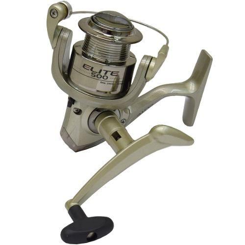 Molinete Para Pesca Elite 500 Fd 3 Rolamentos Marine Sports