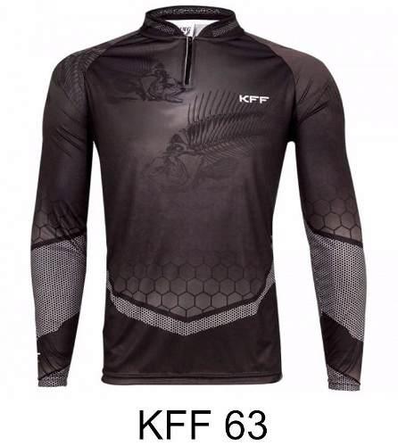 Kit C/ 5 Camisetas Pesca Sublimada Proteção Solar Fator 50