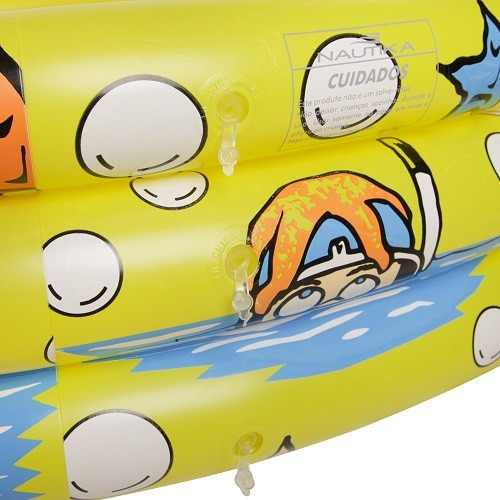 Piscina Banheira 500 Litros Inflável Infantil Nautika