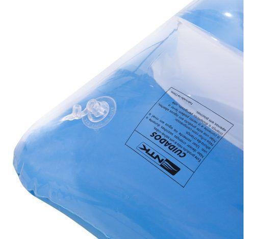 Colchão Boia Inflável Azul Ipanema Para Piscina Nautika