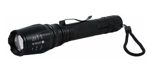 Lanterna Holofote 02 Bateria T6 Recarregável Longo Alcance