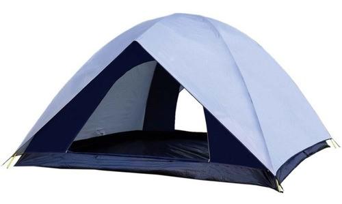 Barraca Camping 6 Pessoas Nautika - Dome 6 + Brinde