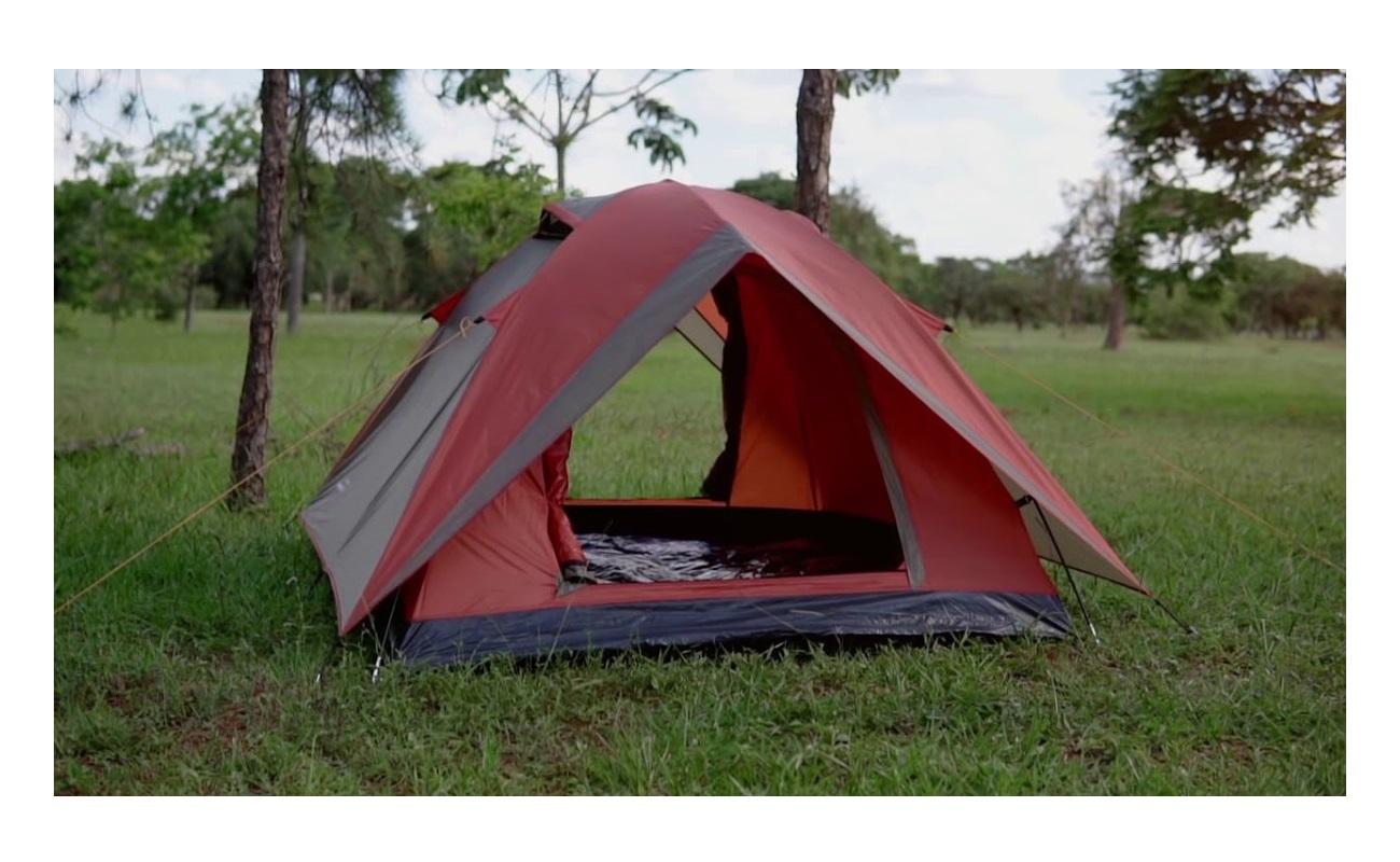 Barraca de Camping Guepardo alta Resistência Vênus 4 pessoas