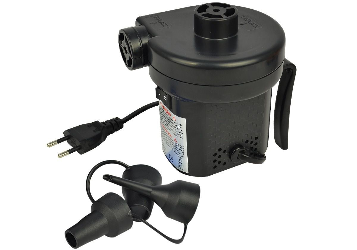 Inflador Universal Eletrico Nautika 220v Ou 110v