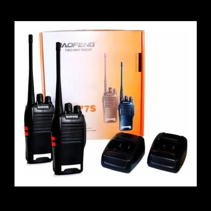 Kit 2 Radio Comunicador TWO-WAY Baofeng 777s 16 Ch 12 Km