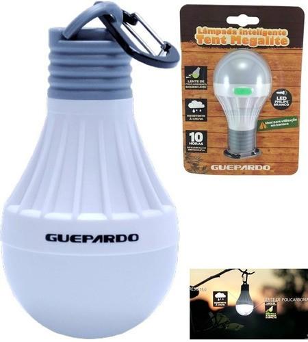 Lampada Lampião Inteligente Tent Megalite Guepardo Barracas Anúncio com variação