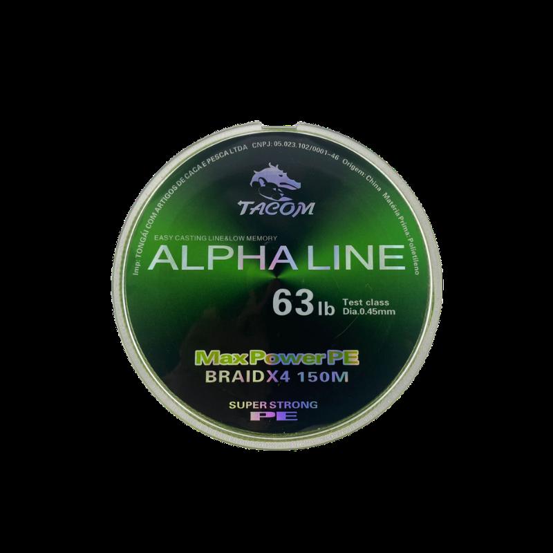 Linha Multifilamento Alpha Line