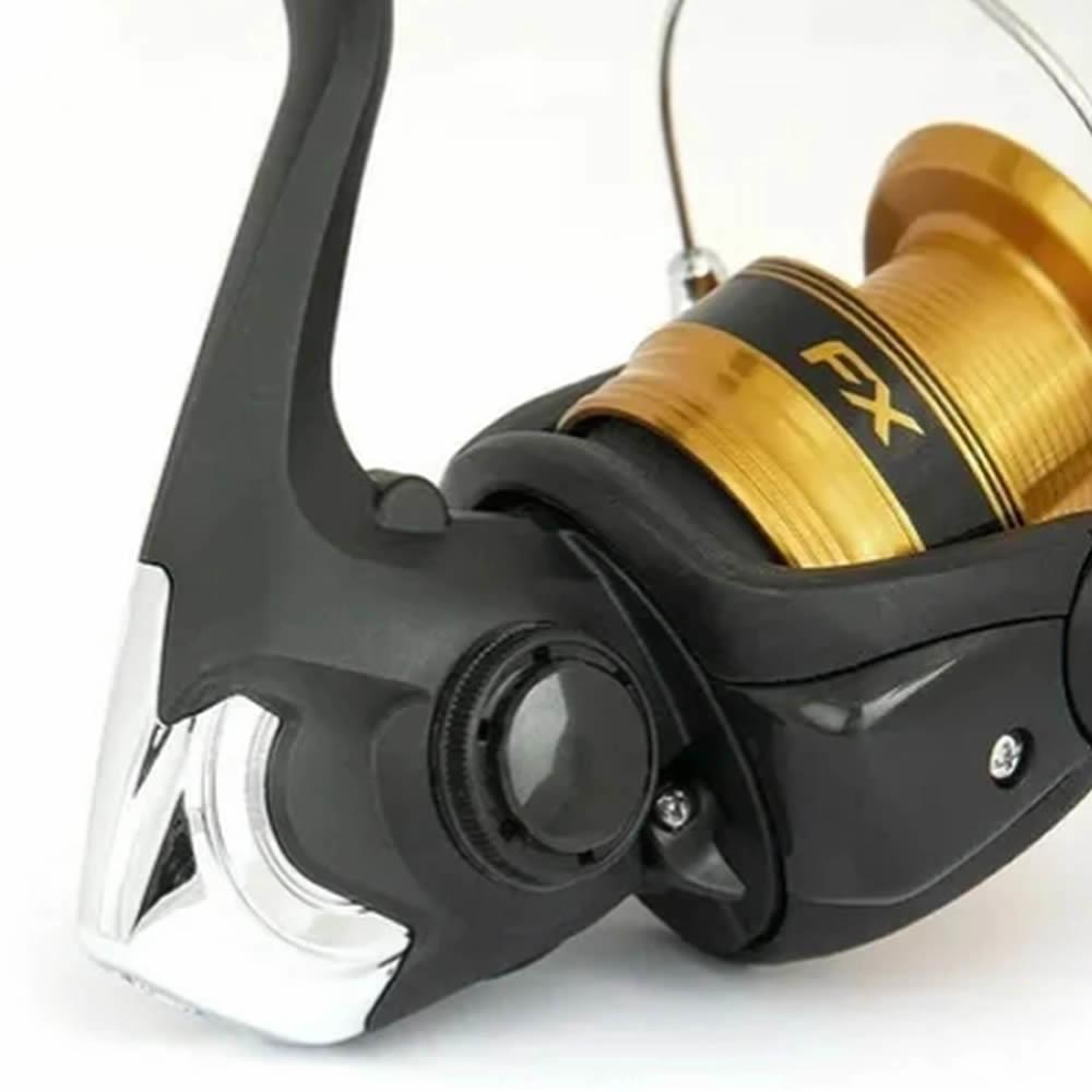 Molinete Shimano New Fx 4000 Drag 8,5 Kg - Alumínio C/nfe