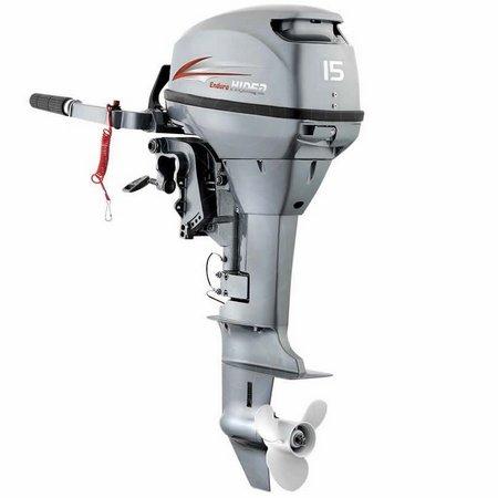 Motor De Popa 15 Hp 2t Hidea 2021 Até 3 Anos De Garantia