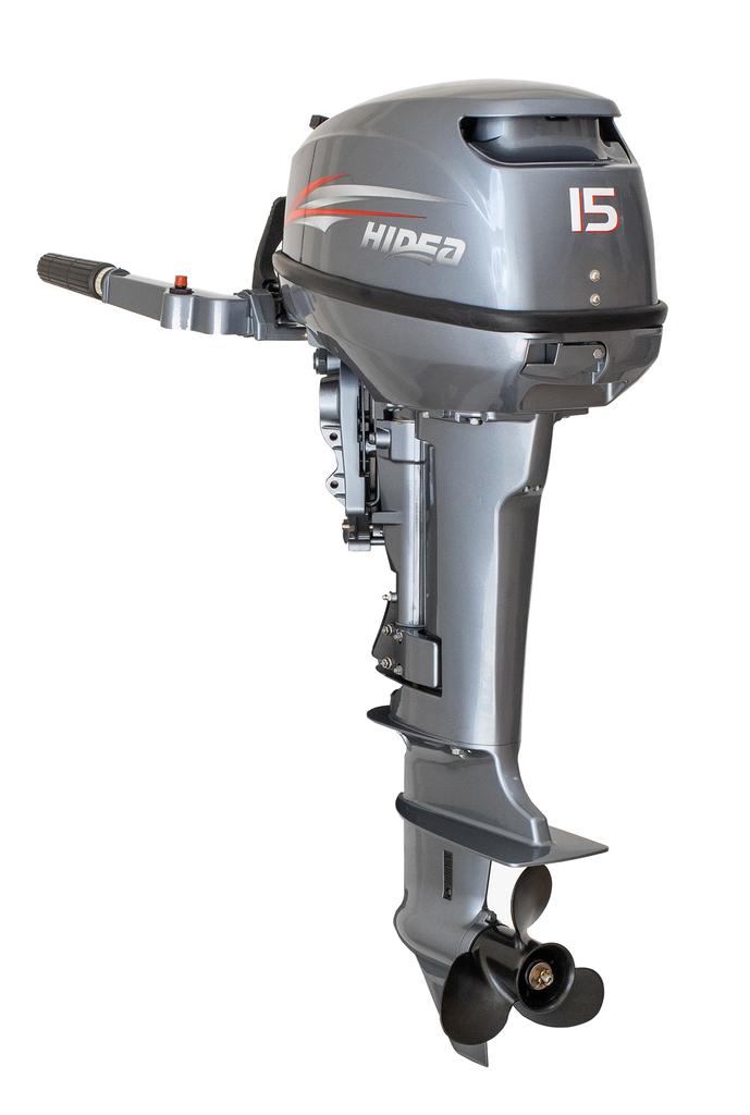 Motor de Popa Hidea 15HP HD15FHS 3 anos de Garantia
