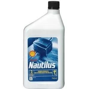 Óleo Shell Nautillus Premium Tc-w3 Para Motores 2t 5 Litros