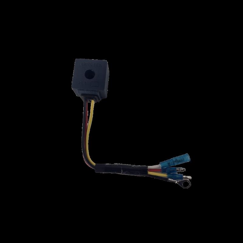 Retificador Corrente Bifásico Motor Popa Suzuki 25a 15-40 Hp