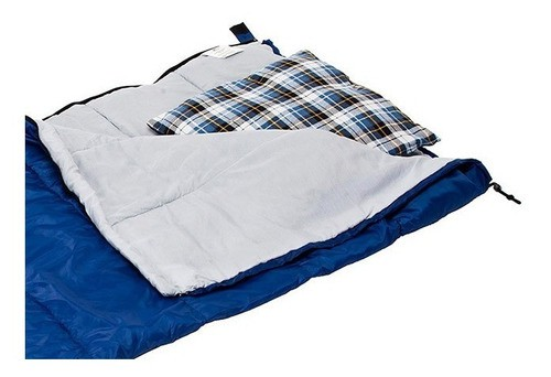 Saco De Dormir Com Travesseiro Sigma 0° A 5° Sacola Guepardo