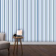 Papel de Parede ADESIVO - Litras azuis