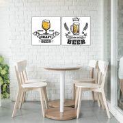Placas decorativas em PVC - Beer