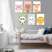 Placas decorativas em PVC - Infantil