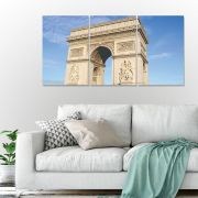 Placas decorativas em PVC - Arco do Triunfo
