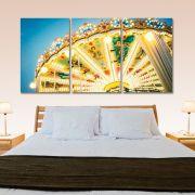 Placas decorativas em PVC - Carrossel