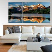 Placas decorativas em PVC - Montanhas