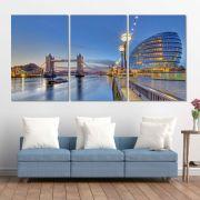 Placas decorativas em PVC - Kit 3unid. Londres