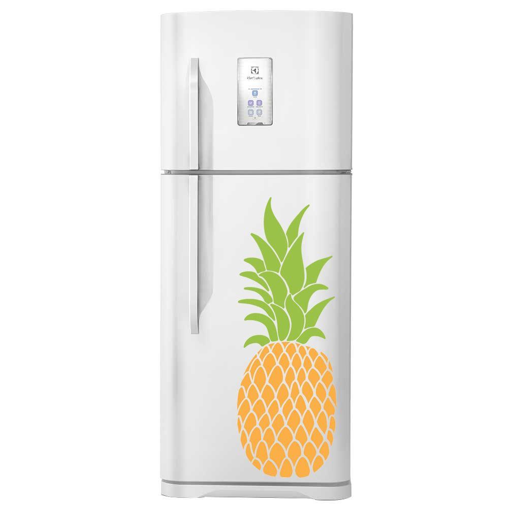 Adesivo de geladeira Abacaxi