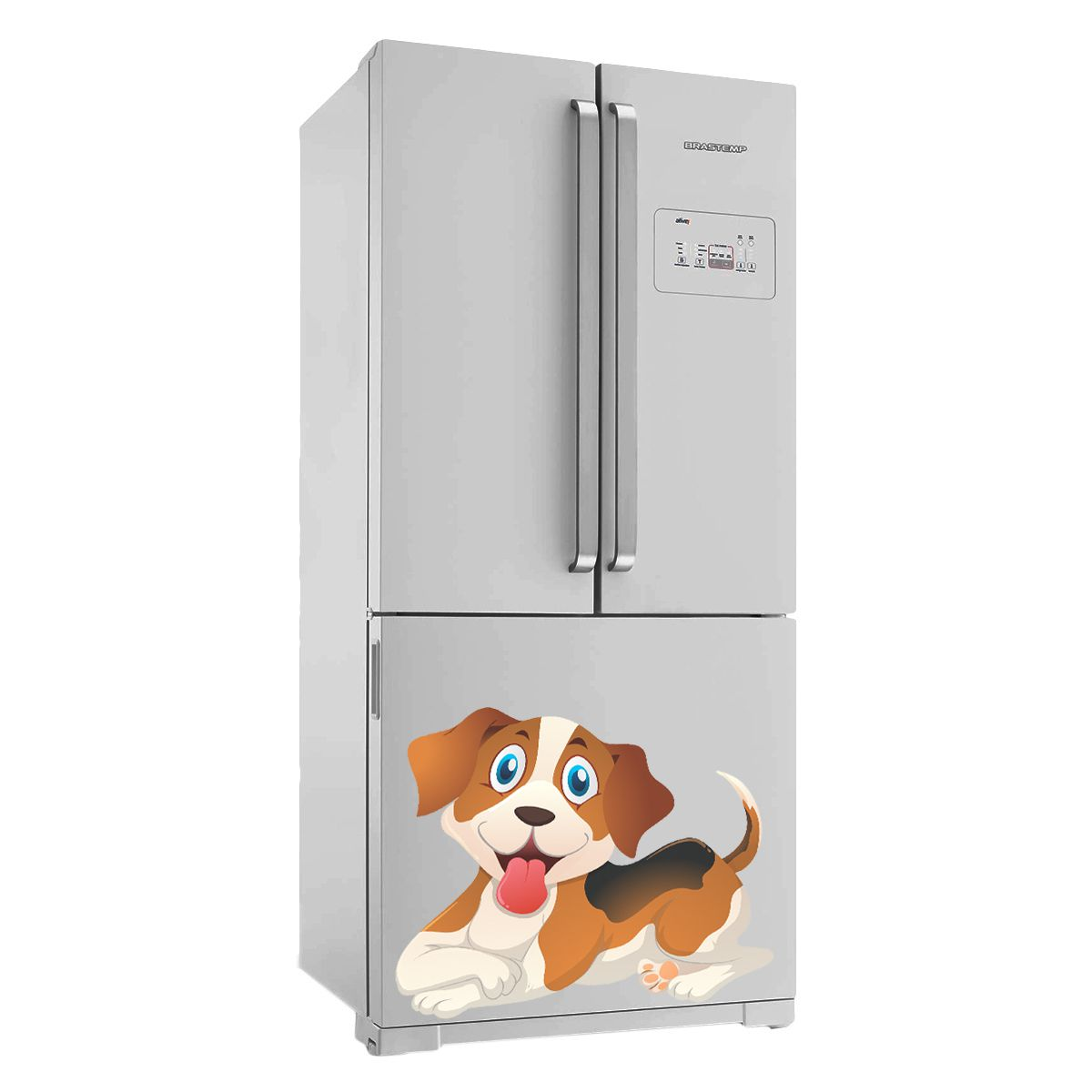 Adesivo de geladeira Cachorro