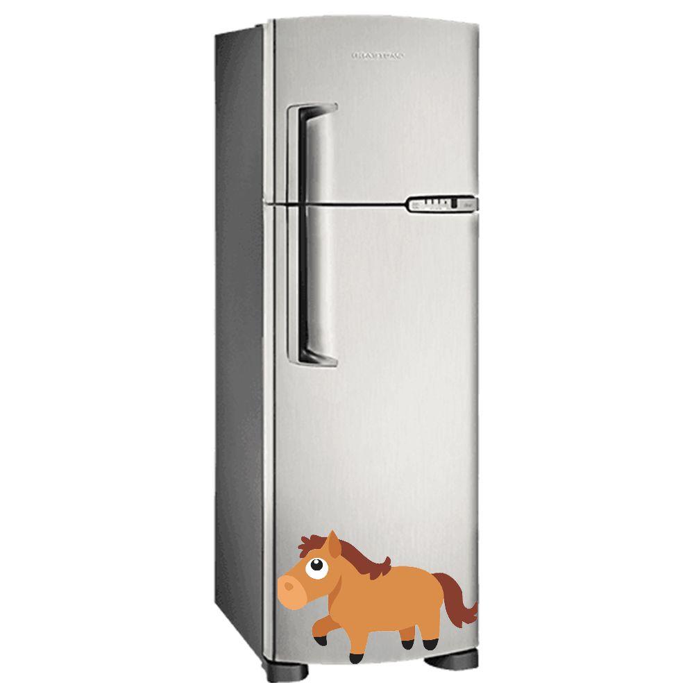 Adesivo de geladeira Cavalo