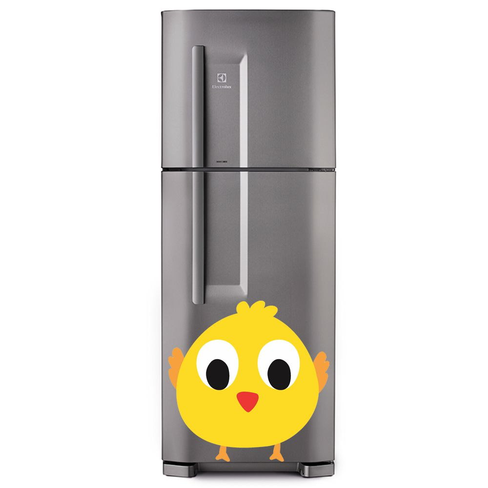 Adesivo de geladeira Pintinho