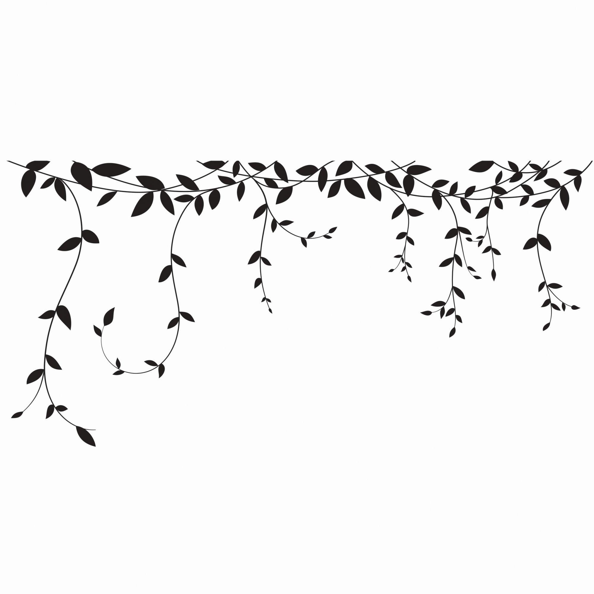 Adesivo ramos de folhas