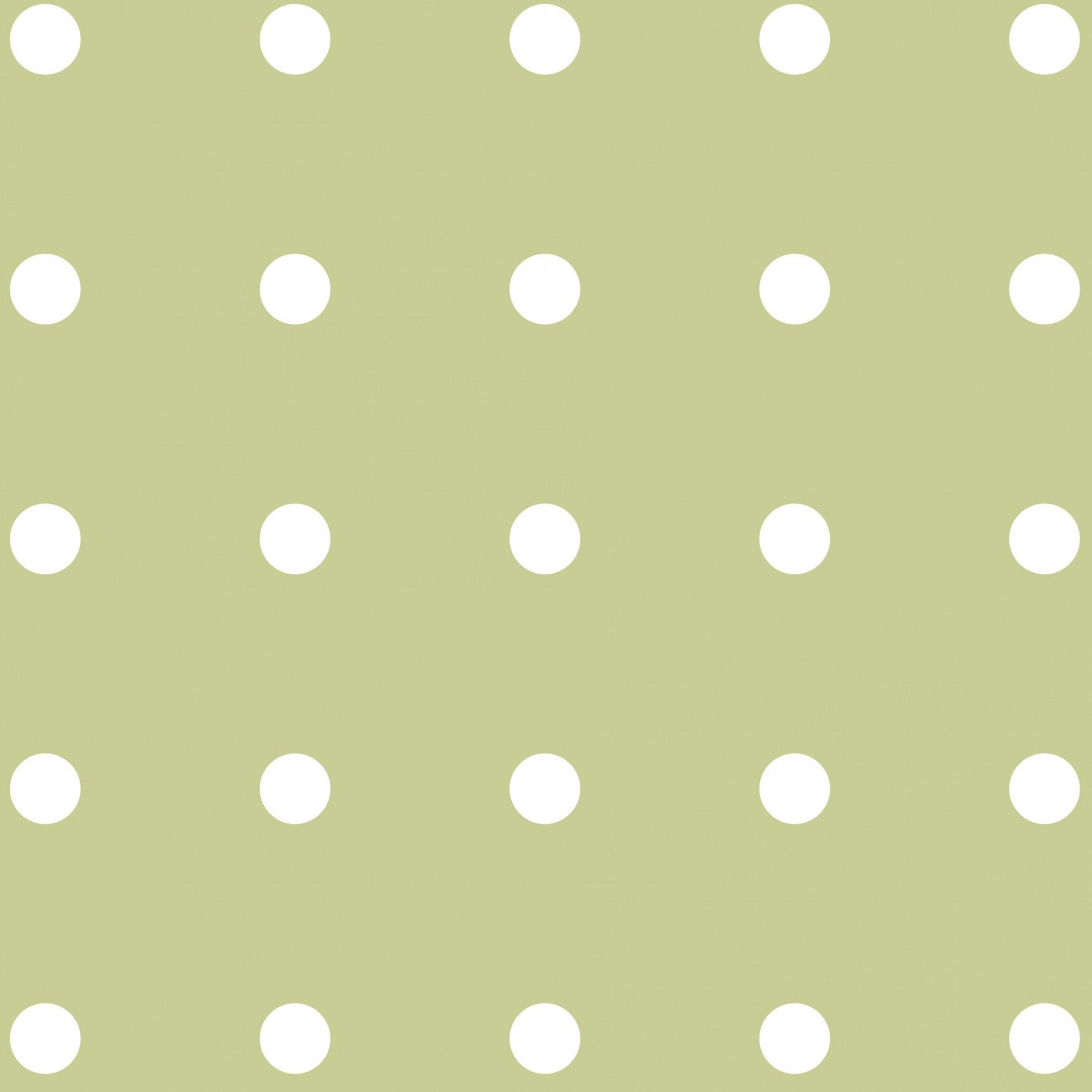 Papel de Parede ADESIVO - bolinhas brancas
