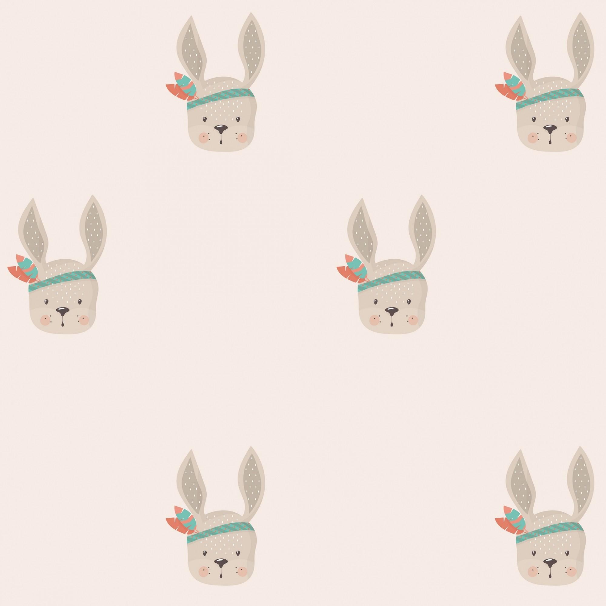 Papel de Parede ADESIVO - coelhos