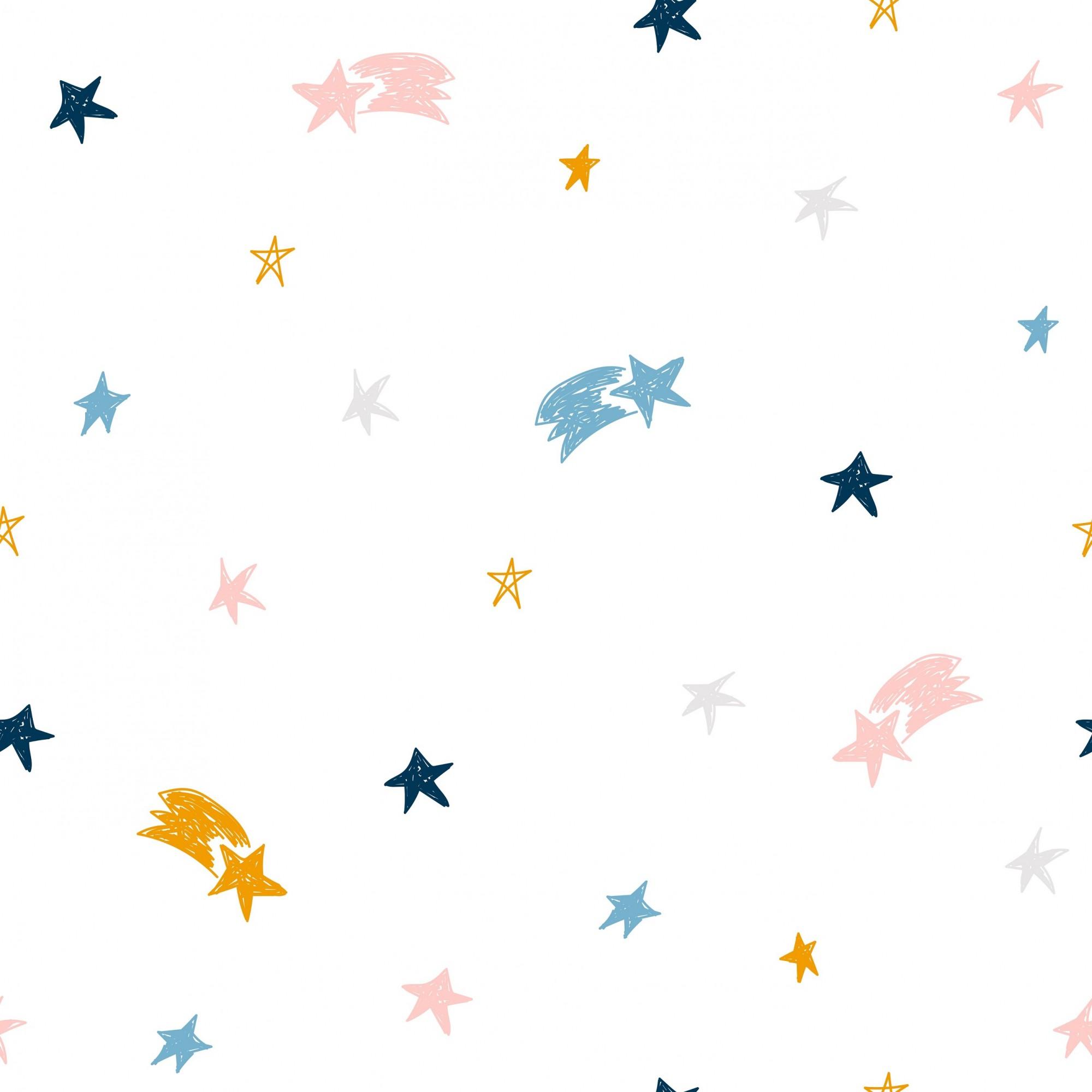 Papel de Parede ADESIVO - estrela cadente