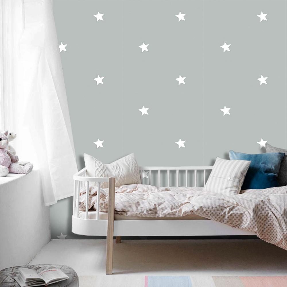 Papel de Parede ADESIVO - estrelas espaçadas
