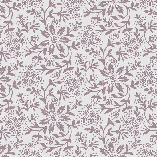 Papel de Parede ADESIVO - Floral marrom