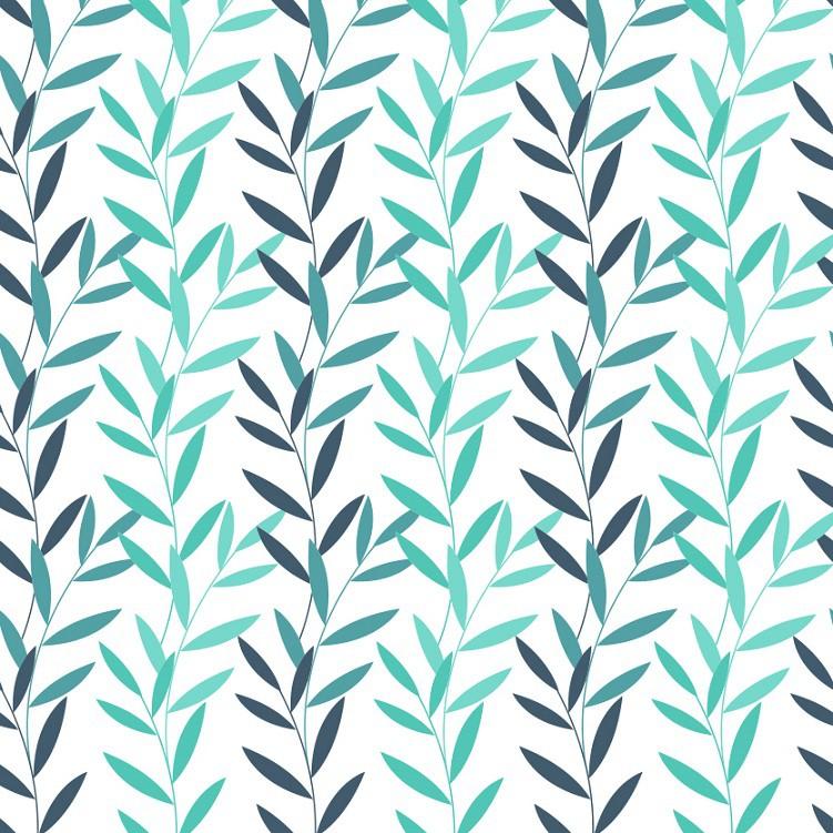Papel de Parede ADESIVO - folhagem verde