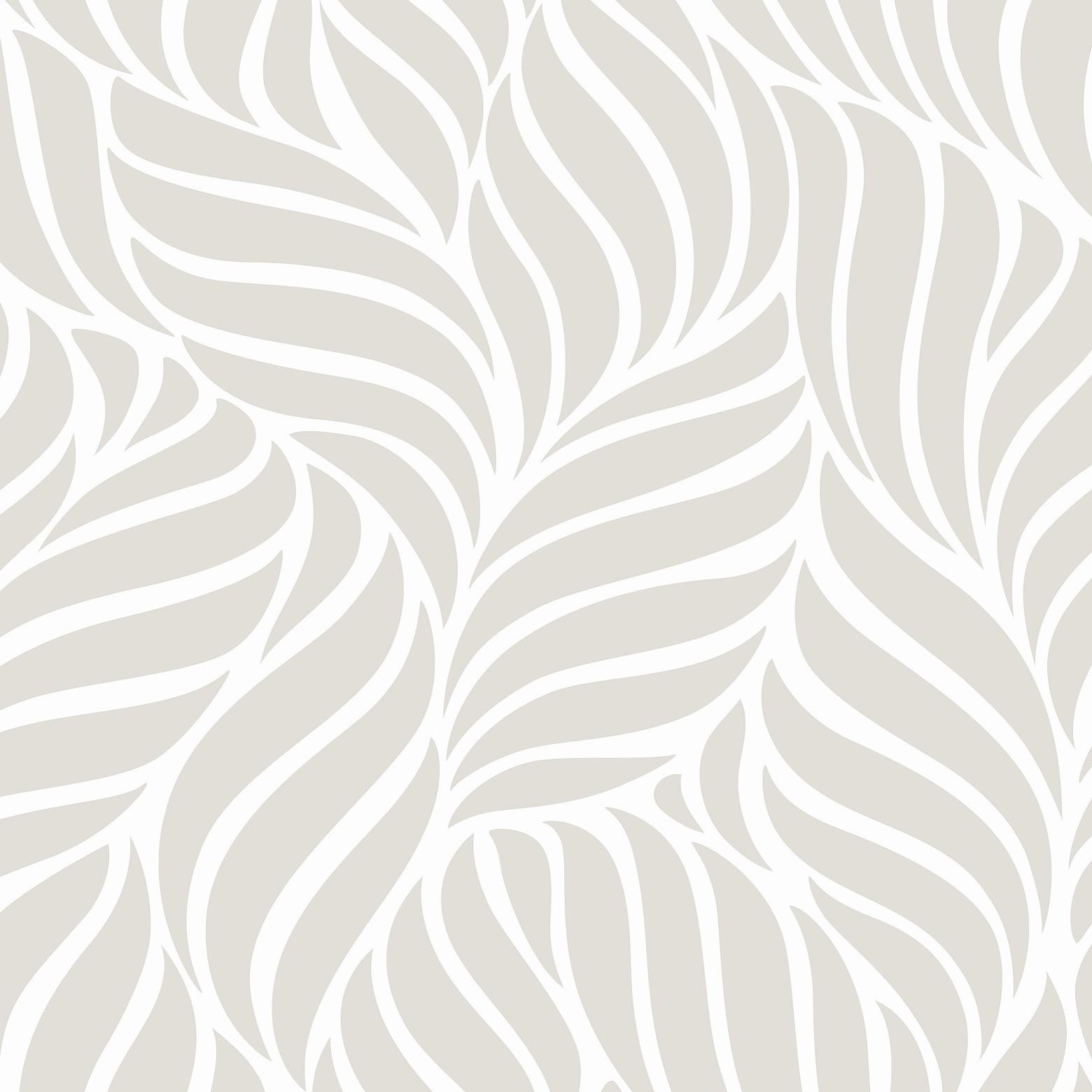 Papel de Parede ADESIVO - Folhas abstratas
