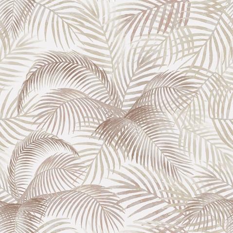 Papel de Parede ADESIVO - folhas coqueiro