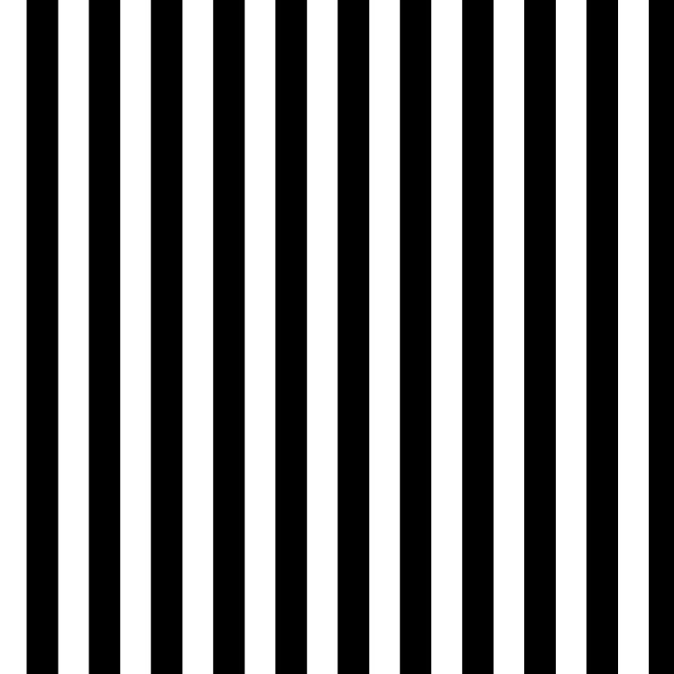 Papel de Parede ADESIVO - Listras pretas e brancas