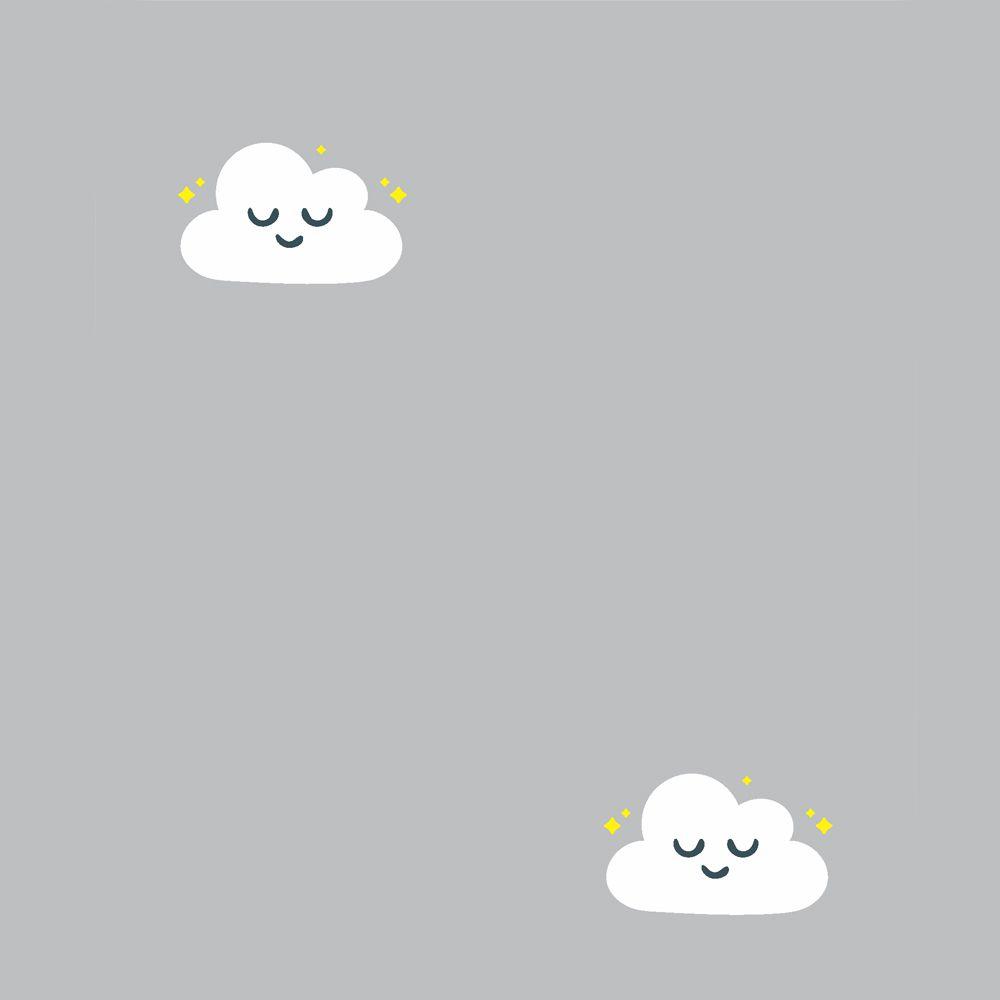 Papel de Parede ADESIVO - Nuvens