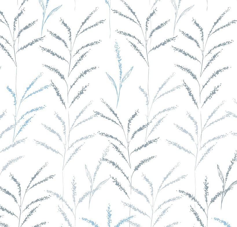 Papel de Parede ADESIVO - ramos claros