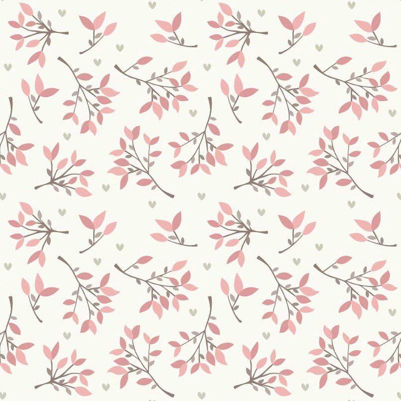 Papel de Parede ADESIVO - ramos de flores