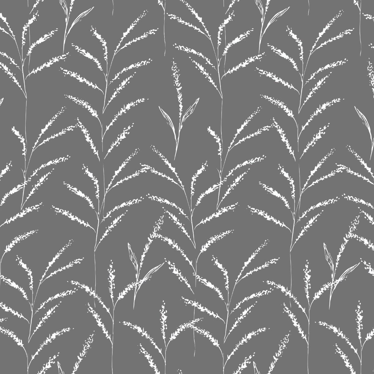 Papel de Parede ADESIVO - ramos escuros