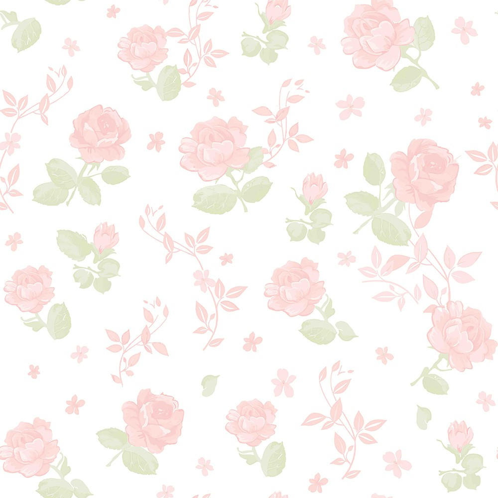 Papel de Parede ADESIVO - Rosas
